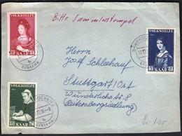Saar / Saarbrucken 10. 12. 1956 / Volkshilfe - 1947-56 Occupazione Alleata