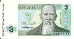 KAZAKHSTAN  3 TENGE 1993 UNC P 8 - Kazakhstan