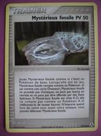 Carte Pokemon - Trainer - Mystérieux Fossile PV 50 - Ex - Créateurs De Légendes - 2006 - Pokemon