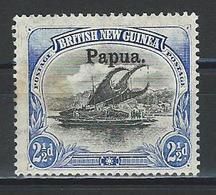 Papua SG 24, Mi 12 * MH - Papua Nuova Guinea
