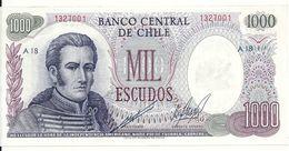 CHILI 1000 PESOS ND UNC P 146 - Chili
