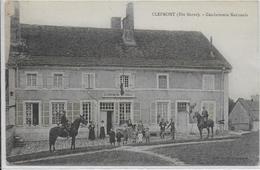 CLEFMONT - La Gendarmerie Nationale - Clefmont