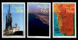 NAMIBIA, 1994, Mint Never Hinged Stamps, Walvis Bay,  768-770, #13 201 - Namibië (1990- ...)