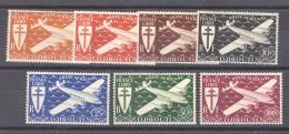 Côte Des Somalis  -  Avion  :  Yv  1-7  *            ,     N2 - French Somali Coast (1894-1967)