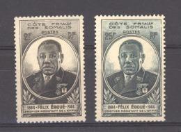 Côte Des Somalis  :  Yv  262-63  * - Côte Française Des Somalis (1894-1967)
