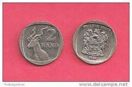 SOUTH AFRICA  1998 Nicely Used 2 Rand Coin Nr. 165, C1340 - South Africa