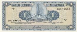 Nicaragua #115a, 1 Cordoba 1968 Issue UNC Banknote - Nicaragua