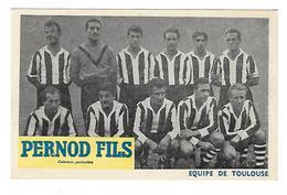 Carte - Bon De Commande Pernod - Equipe Toulouse 1950/51 - TBE - Football