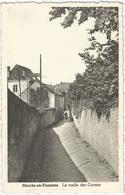 8Eb-460: Marche-en-Famenne La Ruelle Des Carmes > Menin  1958... De Postzegel Is Al Weg... - Marche-en-Famenne