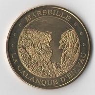 MARSEILLE - La Calanque D'en Vau / MONNAIE DE PARIS - Monnaie De Paris