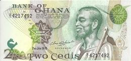 GHANA 2 CEDIS 1977 AUNC P 14 C - Ghana
