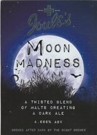 JOULE'S BREWERY (MARKET DRAYTON, ENGLAND) - MOON MADNESS - PUMP CLIP FRONT - Signs