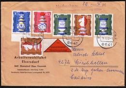 Germany Ebersdorf 1972 / Wohlfahrtsmarken / Chess - Echecs