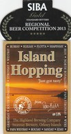 HIGHLAND BREWING CO (ORKNEY, SCOTLAND) - ISLAND HOPPING - PUMP CLIP FRONT - Signs