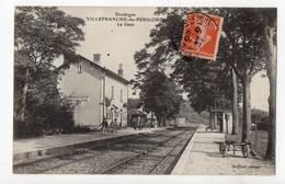 VILLEFRANCHE Du PERIGORD - 24 - Dordogne - La Gare - Andere Gemeenten