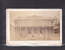 BELGIQUE SPA PHOTO 145*87 PHOTO COLLEE SUR CARTON GALERIE LEOPOLD 1885 - Spa