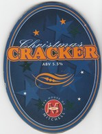 MITCHELLS BREWERY (LANCASTER, ENGLAND) - CHRISTMAS CRACKER - PUMP CLIP FRONT - Signs