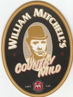 MITCHELLS BREWERY (LANCASTER, ENGLAND) - COUNTRY MILD - PUMP CLIP FRONT - Signs