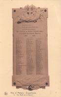 Arts Et Métiers Erquelinnes Aux Morts De La Guerre ( Oorlogsmonument 1914 - 1918) - Erquelinnes