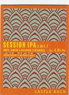 CASTLE ROCK BREWERY (NOTTINGHAM, ENGLAND) - SESSION IPA - PUMP CLIP FRONT - Signs