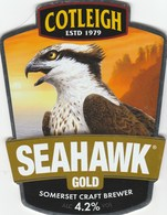 COTLEIGH BREWERY (WIVELISCOMBE, ENGLAND) - SEAHAWK GOLD - PUMP CLIP FRONT - Signs