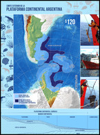 CARTOGRAPHY-ANTARCTIC-2018-ARGENTINA-OUTER LIMIT OF THE ARGENTINE CONTINENTAL SHELF- - Blocs-feuillets