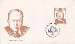RAUL PORRAS BARRENECHEA. FDC. AÑO 1987. PERU- BLEUP - Perú
