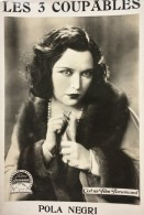 Les 3 Coupables Three Sinners Pola Negri Cinema Ancienne Photo De Film Paramount 1928 - Photographs