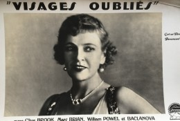 Visages Oublies Clive Brook Mary Brian Cinema Ancienne Photo De Film Paramount 1928 - Photographs