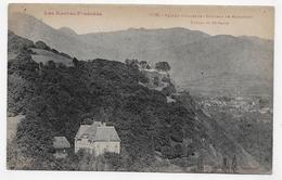 (RECTO / VERSO) VALLEE D' ARGELES EN 1925 - CHATEAU DE MIRAMONT - PIETAT ET SAINT SAVIN - BEAU TIMBRE - CPA VOYAGEE - France