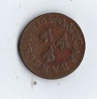 COMTAT-VENAISSIN - AVIGNON - URBAIN VIII (Maffeo Barberini) Double Tournois Ou Quattrino 1637 - 476-1789 Monnaies Seigneuriales