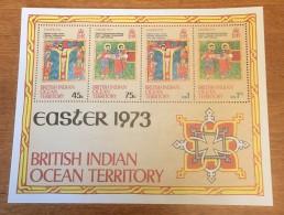 B.I.O.T. - MH* - 1973  - #  53a - British Indian Ocean Territory (BIOT)