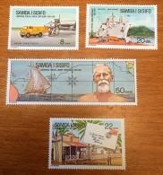 Samoa. - MH* - 1974  - #  403/406 - Samoa