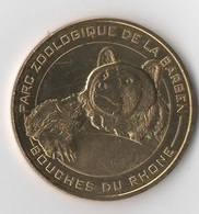 Marseille ZOO DE LA BARBEN 2 - L'Ours Brun / MONNAIE DE PARIS - Monnaie De Paris