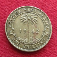 British West Africa 1 Shilling 1942  Brits Afrika Afrique Britannique Britanica - Autres – Afrique