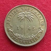 British West Africa 1 Shilling 1945  Brits Afrika Afrique Britannique Britanica - Autres – Afrique