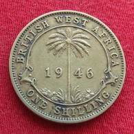British West Africa 1 Shilling 1946  Brits Afrika Afrique Britannique Britanica - Autres – Afrique