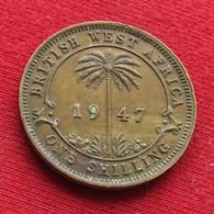 British West Africa 1 Shilling 1947  Brits Afrika Afrique Britannique Britanica - Autres – Afrique