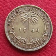 British West Africa 1 Shilling 1949  Brits Afrika Afrique Britannique Britanica - Autres – Afrique