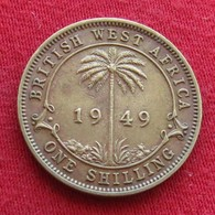 British West Africa 1 Shilling 1949  Brits Afrika Afrique Britannique Britanica - Other - Africa