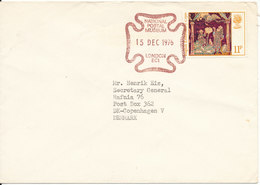 Great Britain Cover With Special Postmark National Postal Museum London 15-12-1976 - 1952-.... (Elizabeth II)