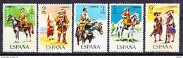 Spanje 1974 Nr 1822/26 ** Zeer Mooi Lot Krt 3036 (zie Ook Andere Mooie Loten Van Stebor) - Timbres