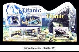 SOLOMON ISLANDS - 2012 CENTENARY OF TITANIC / SHIP - MIN. SHEET MINT NH - Ships