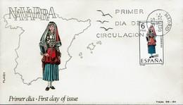 Spanien Espana Spain 1969 - Trachten: Navarra - MiNr 1831 FDC - Kostüme