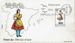 Spanien Espana Spain 1969 - Trachten: Murcia - MiNr 1830 FDC - Kostüme