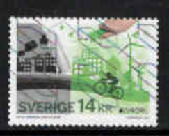 Zweden, Yv 3071 Jaar 2016, Europa Cept, Think Green,   Gestempeld, Zie Scan - Sweden