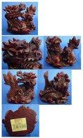 Statuette : Chinese Sea Monster - Asian Art