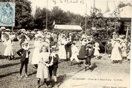 22 GUINGAMP - Fêtes De La Saint-Loup - La Polka - Danse - Très Animée - Guingamp