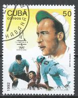 Cuba 1992. Scott #3440 (U) Summer Olympics, Barcelona, Martin Dihigo, Baseball * - Cuba