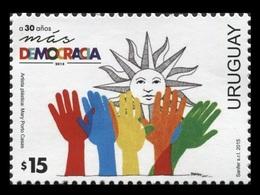 Uruguay 2015 Mih. 3438 Democracy MNH ** - Uruguay